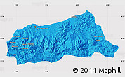Political Map of Jijel, cropped outside