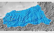 Political Map of Jijel, desaturated