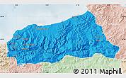 Political Map of Jijel, lighten