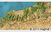 Satellite Map of Jijel