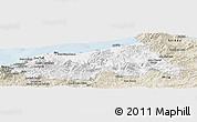 Classic Style Panoramic Map of Jijel