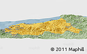 Savanna Style Panoramic Map of Jijel