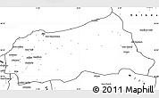 Blank Simple Map of Jijel