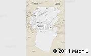 Classic Style 3D Map of Khenchela