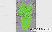 Political Map of Khenchela, desaturated