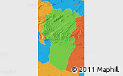 Political Map of Khenchela