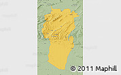 Savanna Style Map of Khenchela
