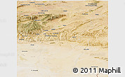 Satellite Panoramic Map of Khenchela