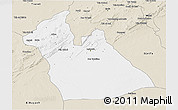 Classic Style 3D Map of Laghouat