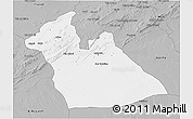 Gray 3D Map of Laghouat