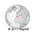 Outline Map of Mascara