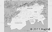 Gray 3D Map of Media