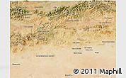 Satellite 3D Map of Media