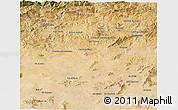 Satellite 3D Map of Mila