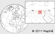 Blank Location Map of Mila