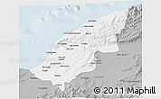 Gray 3D Map of Mostaghanem