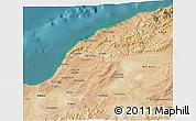 Satellite 3D Map of Mostaghanem