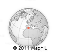 Outline Map of Mostaghanem