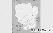 Gray 3D Map of Naama
