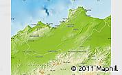 Physical Map of Oran
