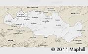 Classic Style 3D Map of Oum El Bouaghi