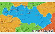 Political Map of Oum El Bouaghi