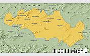 Savanna Style Map of Oum El Bouaghi