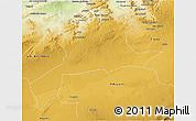 Physical 3D Map of Saida