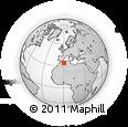 Outline Map of Saida