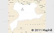 Classic Style Simple Map of Saida