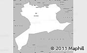 Gray Simple Map of Saida