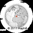 Outline Map of Setif