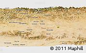 Satellite Panoramic Map of Setif