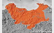 Political Map of Skikda, desaturated