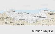 Classic Style Panoramic Map of Skikda