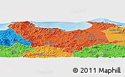 Political Panoramic Map of Skikda