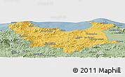 Savanna Style Panoramic Map of Skikda