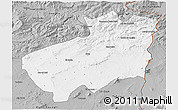 Gray 3D Map of Souk Ahras