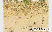Satellite 3D Map of Souk Ahras