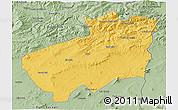 Savanna Style 3D Map of Souk Ahras
