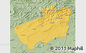 Savanna Style Map of Souk Ahras