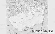 Silver Style Map of Souk Ahras