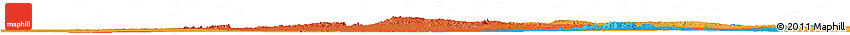 Political Horizon Map of Tamanrasset