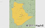 Savanna Style Map of Tamanrasset