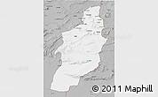 Gray 3D Map of Tebessa