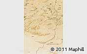 Satellite 3D Map of Tebessa