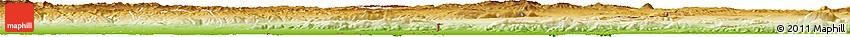 Physical Horizon Map of Tebessa