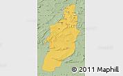 Savanna Style Map of Tebessa