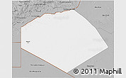Gray 3D Map of Tendouf