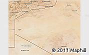 Satellite 3D Map of Tendouf